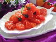 Ẩm thực - Cách làm mứt cà chua bi dẻo ngon, thơm ngọt