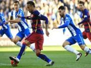 Bóng đá - Espanyol – Barca: Xuất sắc và may mắn