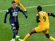 """Bóng đá - Wasquehal - PSG: """"Siêu nhân"""" tỏa sáng"""