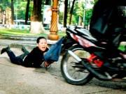 An ninh Xã hội - Chạy xe SH đi cướp giật