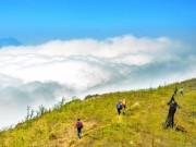 """Du lịch - """"Bữa tiệc với mây"""" trên đỉnh Lảo Thẩn"""