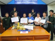 An ninh Xã hội - Phá ổ ma túy xuyên quốc gia, thu 91 bánh heroin