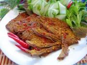 Ẩm thực - Làm thịt bò khô để dành ăn Tết