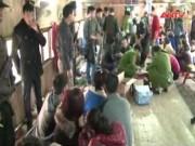 An ninh Xã hội - Tóm gọn 62 con bạc sát phạt trên nhà nổi sông Hồng