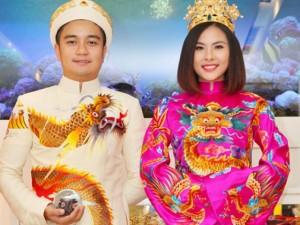 Đời sống Showbiz - Hé lộ trang phục cưới 'rồng phượng' của Vân Trang