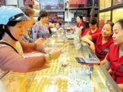 """Tài chính - Bất động sản - Vàng và USD """"nóng"""" trở lại vì chứng khoán Trung Quốc"""