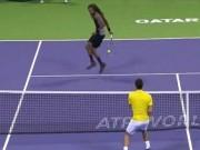 """Thể thao - Djokovic """"đứng hình"""" với cú xoay tay ảo diệu"""