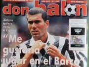 Zidane từng suýt đầu quân cho Barca, cào mặt Enrique