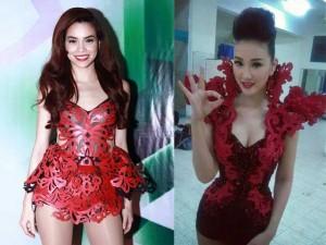 Thời trang - Ca sĩ Maya phủ nhận mặc váy 'nhái' Hồ Ngọc Hà