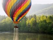 Du lịch - Ngắm cảnh sắc nước Mỹ từ khinh khí cầu