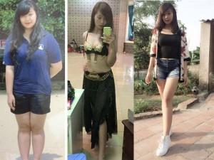 Làm đẹp - Thiếu nữ Vĩnh Phúc từng nặng 1 tạ đẹp hơn nhờ giảm 31kg