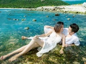 Ngôi sao điện ảnh - Lộ ảnh cưới đẹp như mơ của Vân Trang