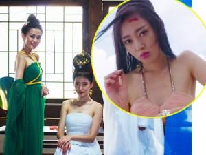 Thời trang  ' nhái, nhảm '  trong phim  ' nóng '  nhất xứ Hoa