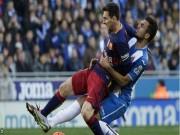 Bóng đá Tây Ban Nha - Chi tiết Barca – Espanyol: 2 thẻ đỏ liên tiếp (KT)