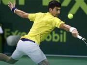 """Thể thao - Djokovic – Verdasco: Uy lực của """"Vua"""" (V2 Qatar Open)"""