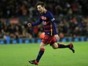 Bóng đá - Lập cú đúp siêu hạng, Messi có thêm kỉ lục