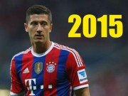 """Bóng đá Đức - Những siêu phẩm để đời của """"máy ghi bàn"""" Lewandowski"""