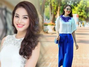 Thời trang - Thời trang từ sự kiện ra phố 'đẹp mê' của Phạm Hương