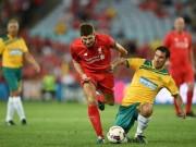 Video bàn thắng - Gerrard & các huyền thoại Liverpool bùng nổ tại Úc