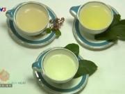 Ẩm thực - Cách pha chế 3 loại thức uống trị viêm họng