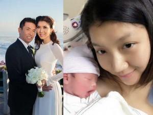 Cựu người mẫu Ngọc Quyên đã hạ sinh con trai đầu lòng