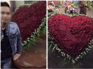 Xôn xao 'Soái ca' ở Hưng Yên tỏ tình bằng ngàn bông hồng