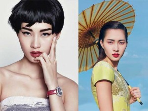 Thời trang - Hoa hậu Thu Thảo khác lạ với tóc ngắn, mắt kẻ sắc lẹm