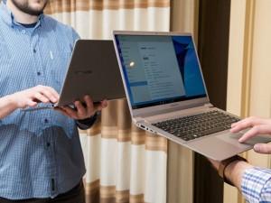 Các sản phẩm khác - Trên tay bộ đôi laptop Samsung Notebook 9 Series siêu nhẹ