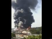 Video An ninh - Bình Dương: Cháy nổ kinh hoàng tại nhà xưởng công ty gỗ