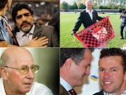 Bóng đá - Maradona và 10 huyền thoại thảm bại nghiệp cầm quân