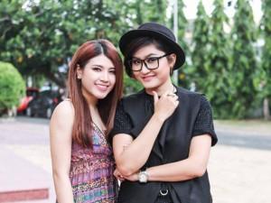 Vicky Nhung phủ nhận tin đồn yêu Tố Ny