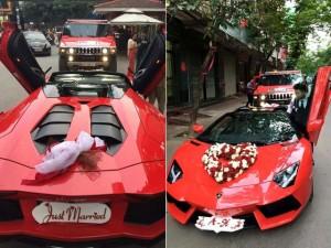 Bạn trẻ - Cuộc sống - Chàng trai Hải Phòng rước dâu bằng siêu xe hơn 20 tỷ