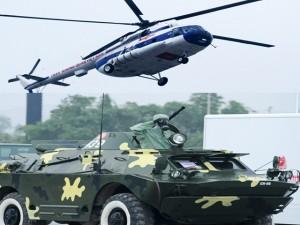 Tin tức trong ngày - Dàn trực thăng, xe chuyên dụng xuất quân bảo vệ Đại hội Đảng