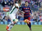 """Bóng đá Tây Ban Nha - Barca - Granada: Cú hattrick """"đầu tiên"""""""