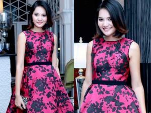 Thời trang - Hoa hậu Hương Giang khoe vẻ trẻ trung với tóc ngắn