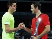 """Thể thao - Chi tiết Federer - Raonic: """"Tàu tốc hành"""" lạc lối (KT)"""