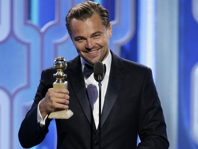 Leonardo DiCaprio thắng giải lớn tại 'Quả cầu vàng 2016'