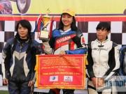 Các môn thể thao khác - Cô thợ may xinh đẹp giành Á quân giải đua mô tô Việt