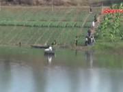 An ninh Xã hội - Nam thanh niên bị trói bằng lưới sắt chết thảm dưới hồ