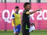 """Bóng đá - HLV Miura cáu vì sự cố """"trời ơi"""" trên sân tập U23 VN"""