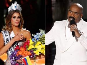 Thời trang - Hoa hậu Colombia 'lên sóng' talk show của MC 'tội đồ'