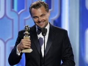 Leonardo DiCaprio thắng giải lớn tại  ' Quả cầu vàng 2016 '