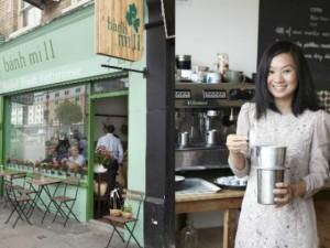 Bạn trẻ - Cuộc sống - Gặp cô gái Việt bỏ việc ngân hàng đi bán bánh mì ở Anh