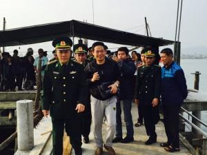 Tin tức trong ngày - Ngư dân Việt cứu người Trung Quốc gặp nạn trên biển