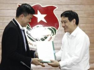 MC Tuấn Tú nhận chức Phó ban tuyên giáo Trung ương Đoàn