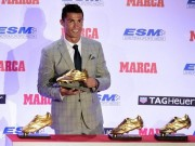 """Bóng đá Pháp - Cuộc đua Chiếc giày vàng 2015/16: CR7, M10 """"lép vế"""""""