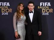"""Bóng đá - Bạn gái Messi """"tỏa sáng"""" giữa dàn WAG Quả bóng Vàng"""