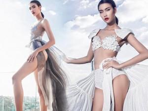 Thời trang - Quán quân Nguyễn Oanh khoe chân dài miên man