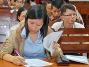 Giáo dục - du học - Tuyển sinh ĐH-CĐ 2016: Không được đổi nguyện vọng xét tuyển