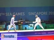 Thể thao - Đấu kiếm Việt Nam: Áp lực giành vé đến Rio